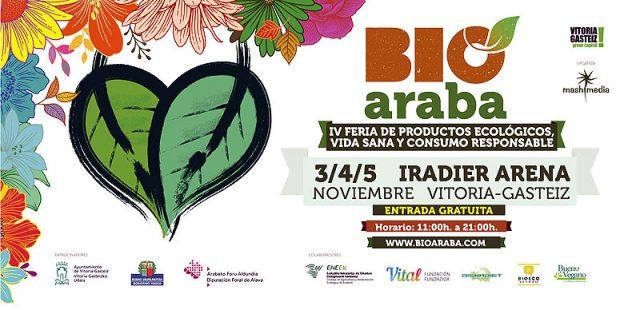 BioAraba 2017 – IV Feria de productos ecológicos, vida sana y consumo responsable
