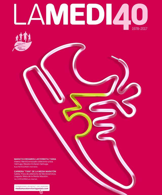 ¿Vienes a la ½ Marathon de Vitoria-Gasteiz?