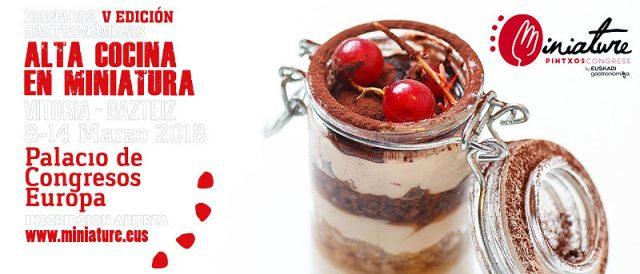 V Edición Jornadas Gastronómicas. Alta Cocina en Miniatura.