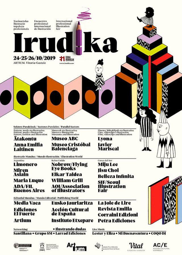 3. Ausgabe von Irudika, International Professional Illustration Meeting