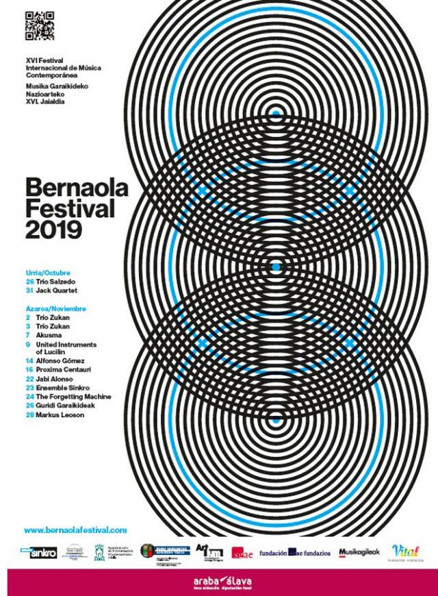 La XVI edición del Bernaola Festival acerca 13 conciertos en espacios de referencia del territorio