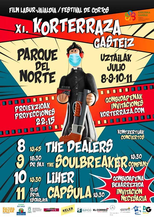 Festival de cortos – Korterraza Gasteiz 2020