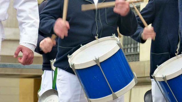 The San Prudencio retreat will sound at the Iradier Arena and the drums on the balconies